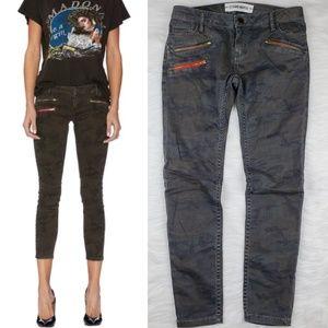 Etienne Marcel Camo Skinny Jeans 28